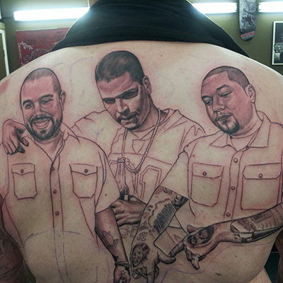 Top san diego tattoo artist black and grey portraits for Best tattoo artists in the southeast